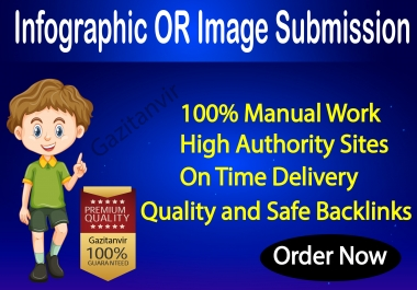 I will do 65 images or infographic submission on high-quality sites