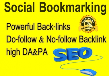 I will promote 40 High-quality social bookmarks for your website.