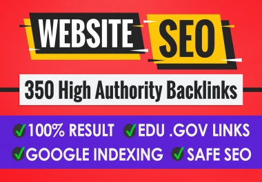 Create 350+PBN Backlink in your website hompage with HIGH DA/PA/TF/CF with unique websites