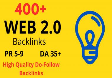 BUILD MANUALLY DA 35+ PA35+ web 2.0 400 Powerful PBN 400 unique site