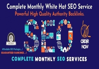 Monthly SEO Service - 1k Powerful High Authority Backlinks- Guaranteed SEO Service