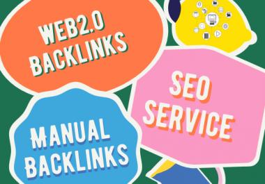 I will create web2.0 backlinks