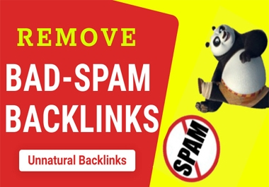 I will find out and remove bad/spamming/unnatural backlinks