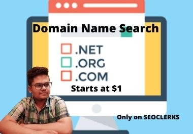 I'll search Non used domain for you