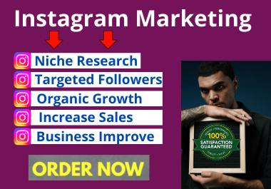 Professionally marketing and grow your Instagram business