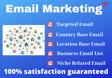 I will collect your niche targeted email list