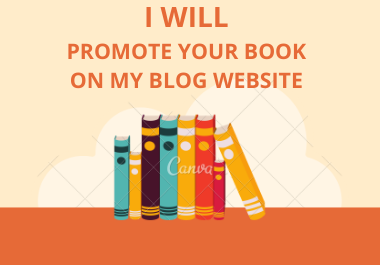 I will do kindle book promotion for 1 week