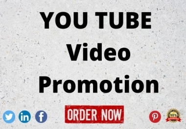 organic youtube promotion of your video