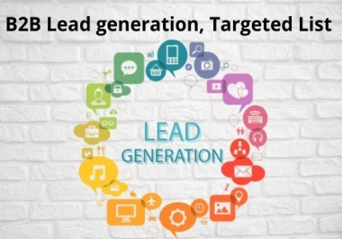 20 b2b lead generation and collect targeted leads