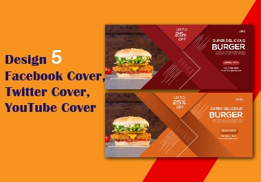 Design 3 concept Facebook cover / twitter cover / YouTube cover