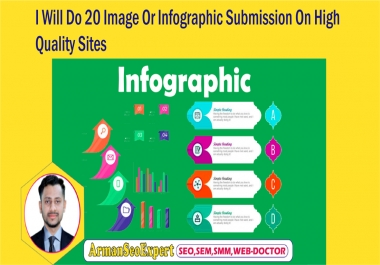 I Will Do 20 Image Or Infographic Submission On High Quality Sites