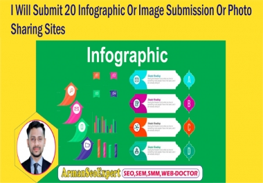 I Will Submit 20 Infographic Or Image Submission Or Photo Sharing Sites
