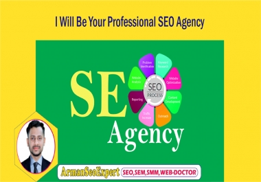 I Will Be Your Professional SEO Agency