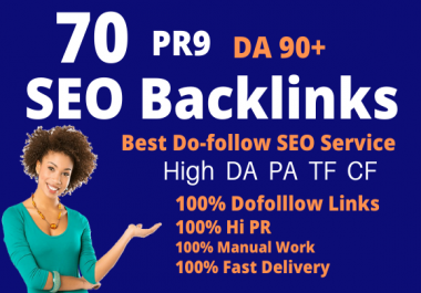 I Will Create 70 Pr9 Da 90 High Authority Dofollow Profile Backlinks