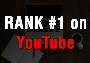 I will do youtube SEO for videos rank on the 1st page