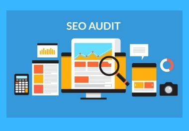 I will provide a professional SEO audit report of your website