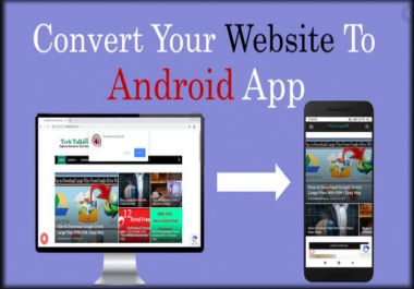 Convert website to android app using WebView