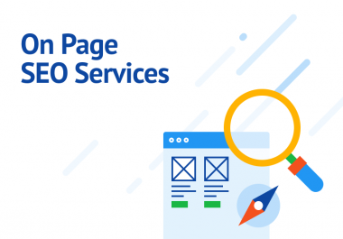 I will do on page SEO optimization service of wordpress website