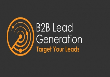 I will provide highly targeted b2b or b2c lead generation for your business