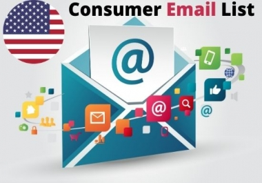 I will provide 5k USA Based consumer email list for your business
