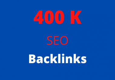 I will 400k gsa ser backlinks, increase link juice, ultimate SEO