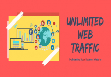 Get UNLIMITED Web traffic world Wide