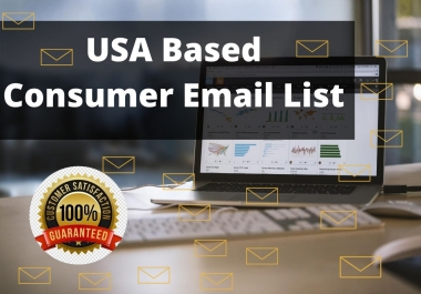 I will provide 5000 USA based consumer Email list