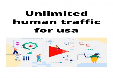 unlimited human traffic for usa