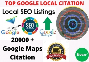 i will create manually google map citations for local SEO business,gmb ranking