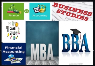 I will be your tutor of business studies, MBA , BBA, Assignments