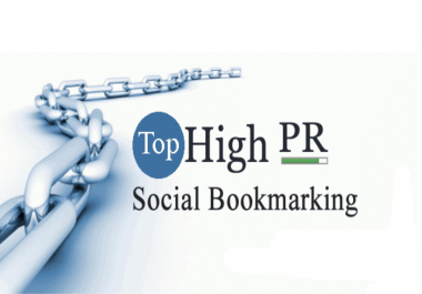 Manually build 60 Social Bookmaking in high DA & PA (40 to 80) site