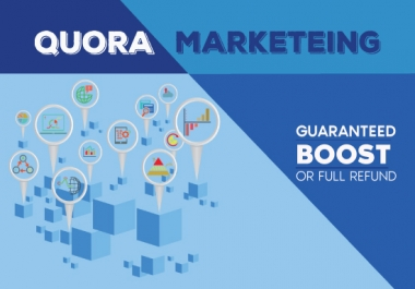 10 High quality unique Quora answer backlinks. Trusted marketing.