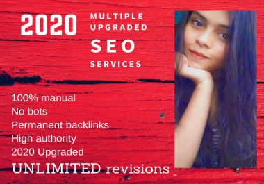2020 multiple Upgraded SEO backlinks services to rank your website on Google TOP page