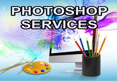I will work in photoshop and provide top class designing services