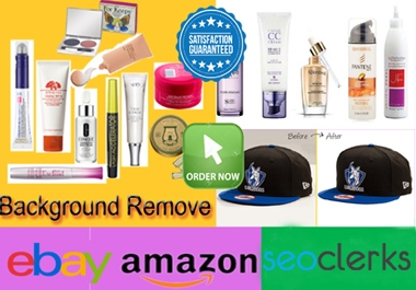 I will do background removal and edit 30 product pictures for amazon and other listings