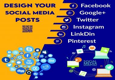 I Will Design Professional And Unique Social Media Post