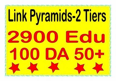 Boost Multi-Tiere Backlinks - 3000 Contextual DA 50+ & .EDU Tiered Backlinks For SEO