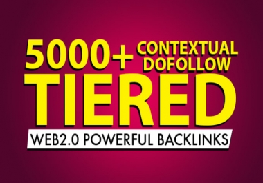 I will rank your website with 2000 plus tiered dofollow contextual seo backlinks