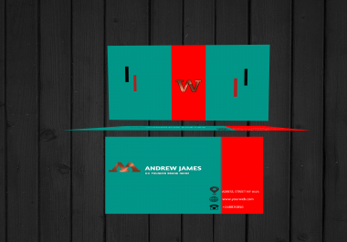 I will design business card and stationary items with logo