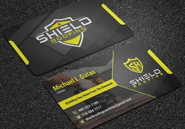 I will do modern business card design in 6 hrs