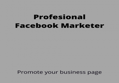 I Will optimize your facebook , instagram,twitter business page and youtube promotion