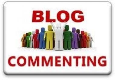 i will provide 250 blog comments high da pa backlink