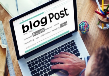 I will do seo articles and blog posts for your website