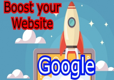 Boost your website ranking on Google within 5 Weeks