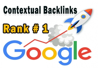 I will build Ultra SEO contextual Google backlinks