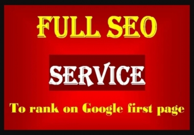 I will Create a Full SEO Backlink Campaign For Your Website