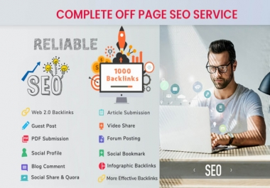 I will do Monthly Off Page SEO For Any Website Google Ranking