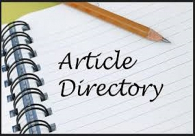 Create 200+ Article Directory Submission backlinks