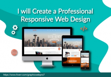I will be your website designer and web developer