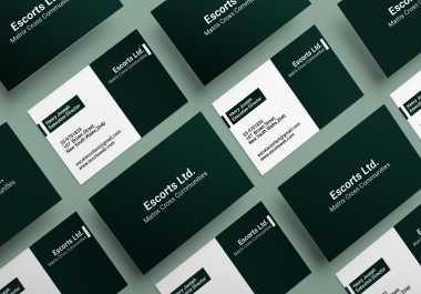 I Will Create Professional and minimalist Business Card for you